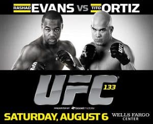 UFC 133: Evans vs. Ortiz 2