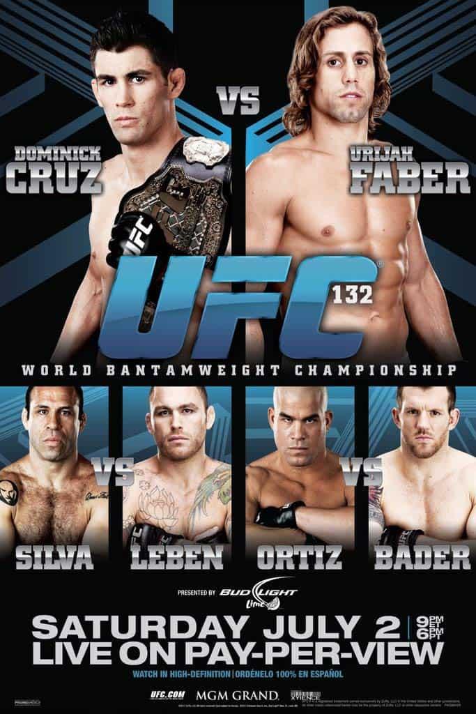 UFC 132: Cruz vs. Faber 1