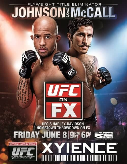UFC on FX: Johnson vs. McCall 1