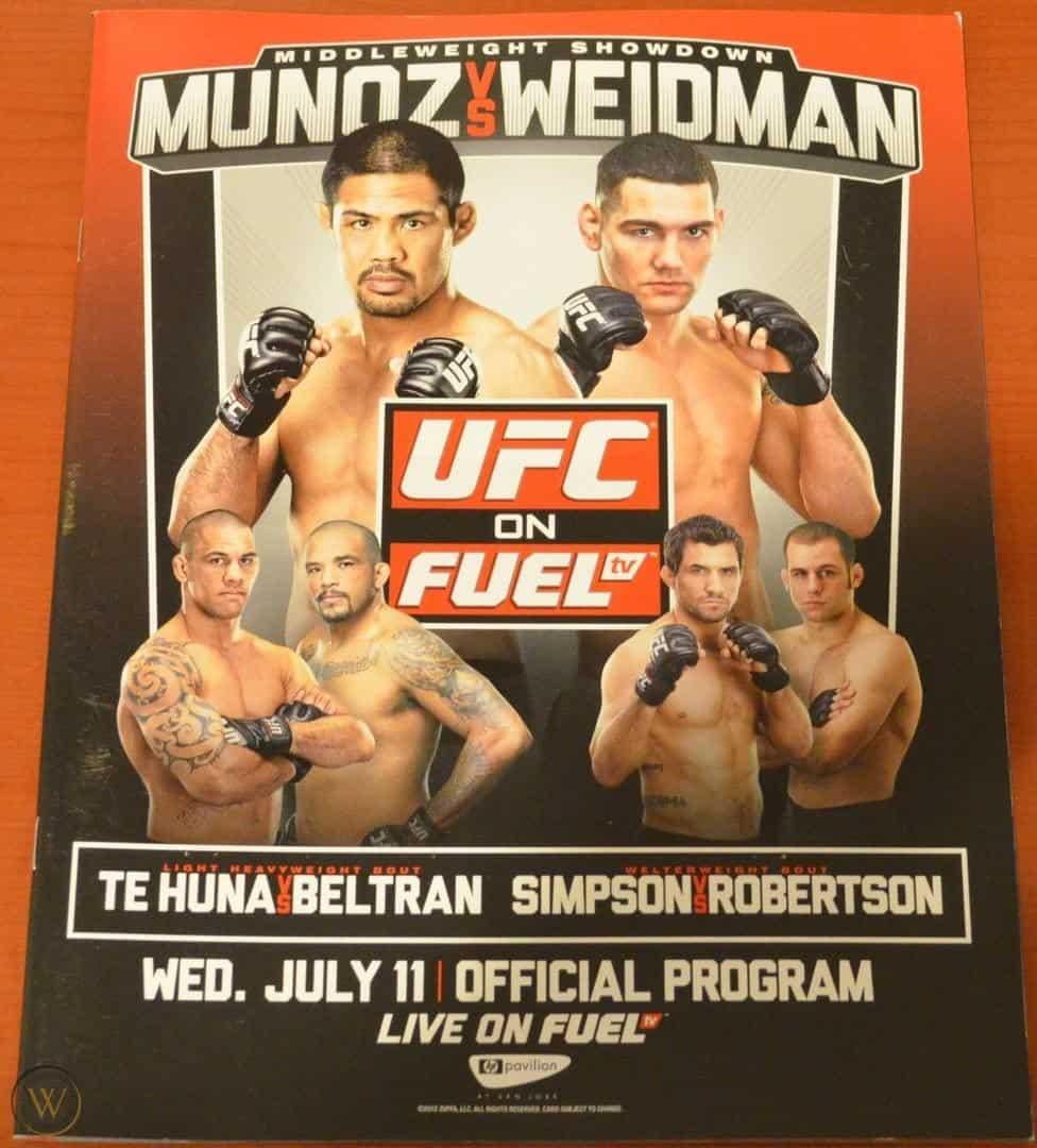 UFC on Fuel TV: Muñoz vs. Weidman 1