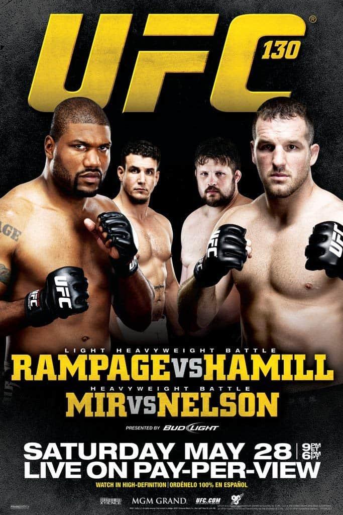 UFC 130: Rampage vs. Hamill 1