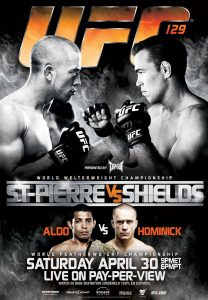 UFC 129: St-Pierre vs. Shields 2