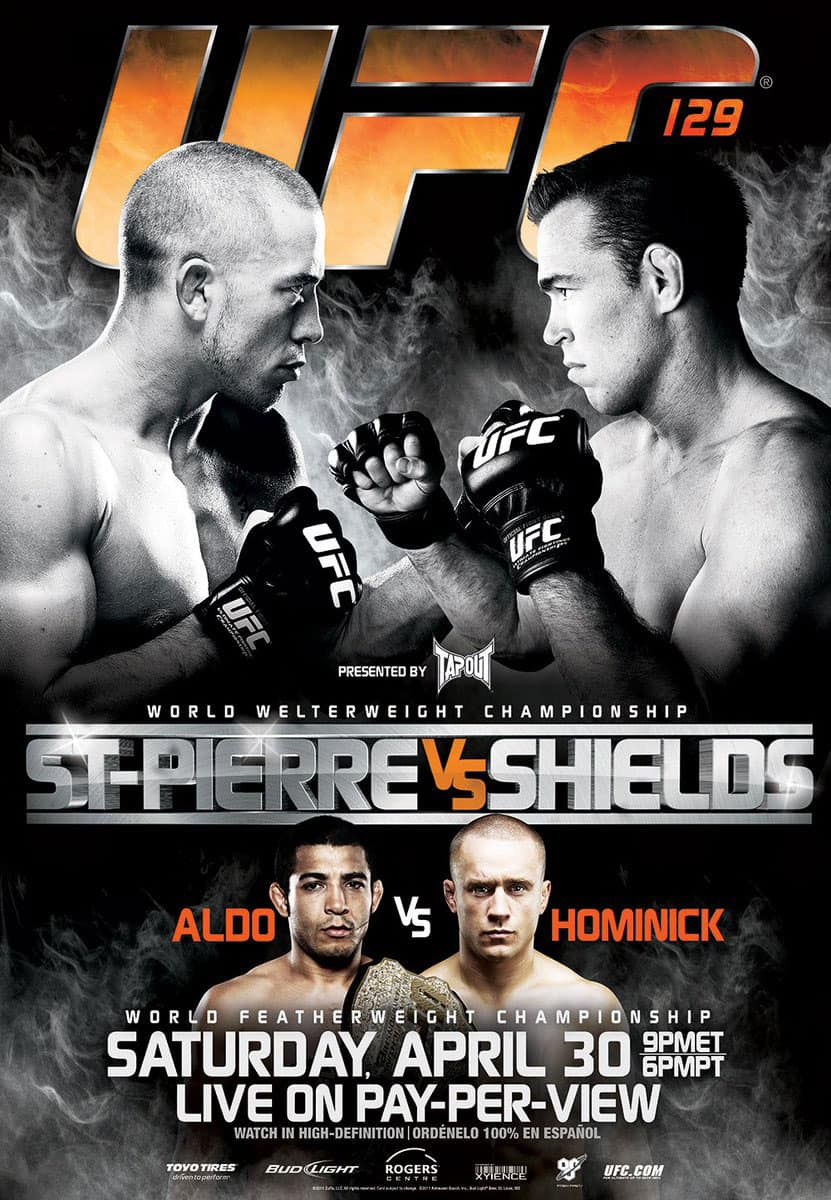 UFC 129: St-Pierre vs. Shields 1