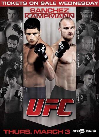 UFC Live: Sanchez vs. Kampmann 1