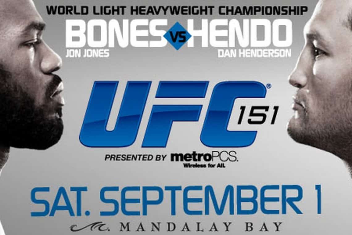 UFC 151: Jones vs. Henderson 1