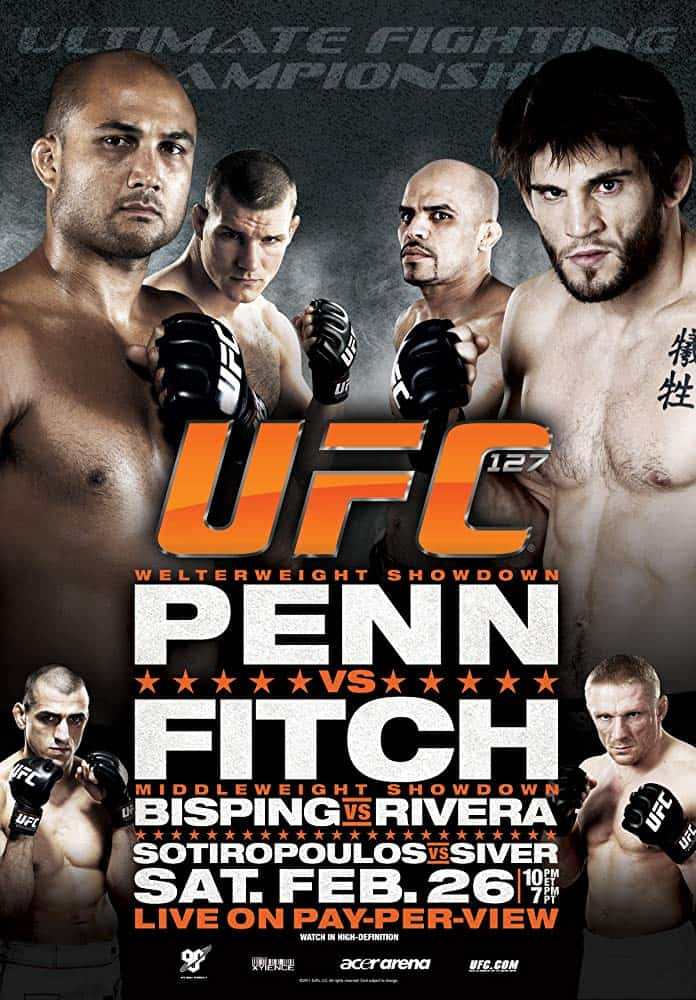UFC 127: Penn vs. Fitch 1
