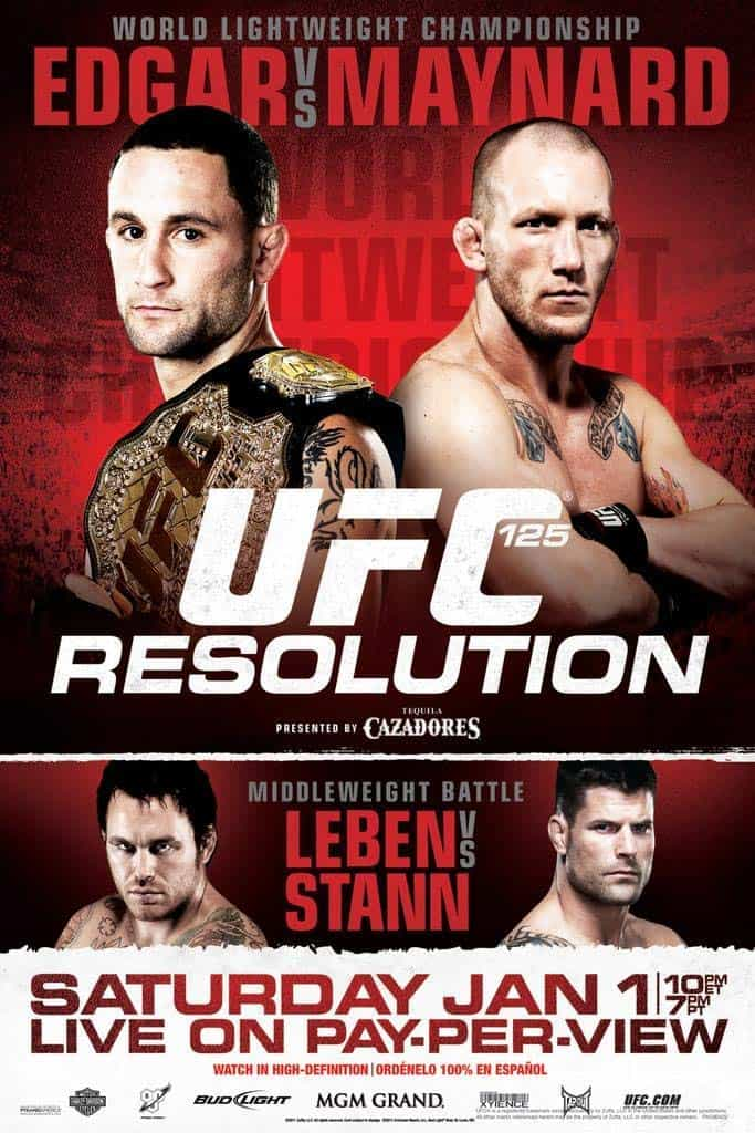 UFC 125: Resolution 1