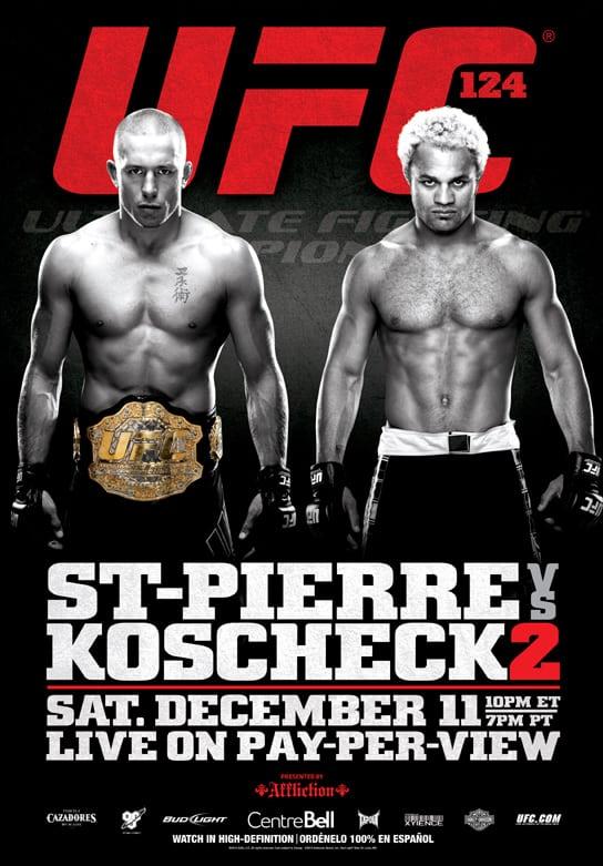 UFC 124: St-Pierre vs. Koscheck 2 1