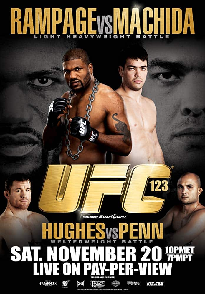 UFC 123: Rampage vs. Machida 1