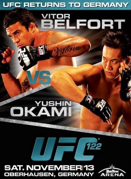 UFC 122: Marquardt vs. Okami 1