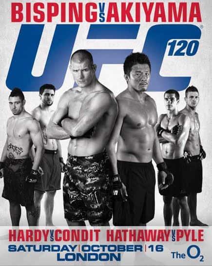 UFC 120: Bisping vs. Akiyama 1