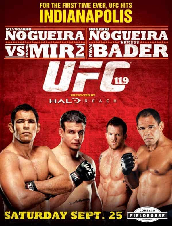UFC 119: Mir vs. Cro Cop 1