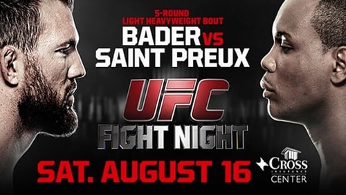 UFC Fight Night: Bader vs. Saint Preux 1