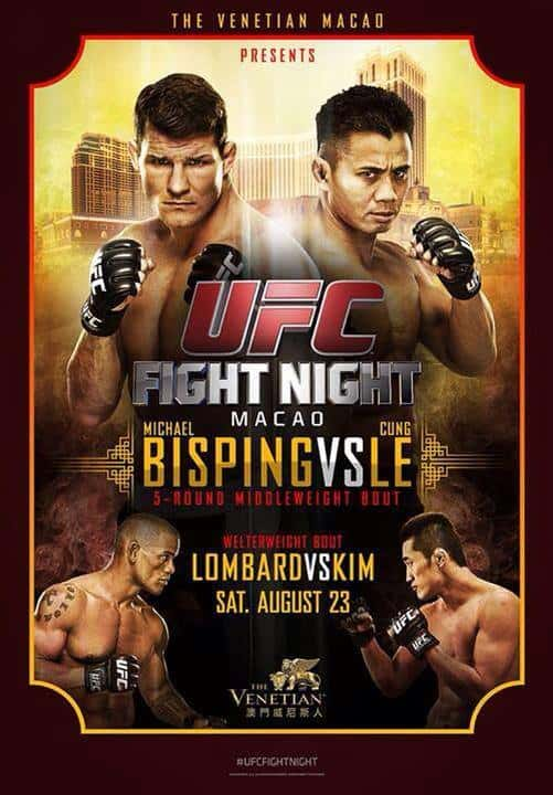 UFC Fight Night: Bisping vs. Le 1
