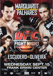 UFC Fight Night: Marquardt vs. Palhares 2
