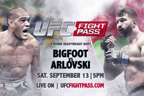 UFC Fight Night: Bigfoot vs. Arlovski 1