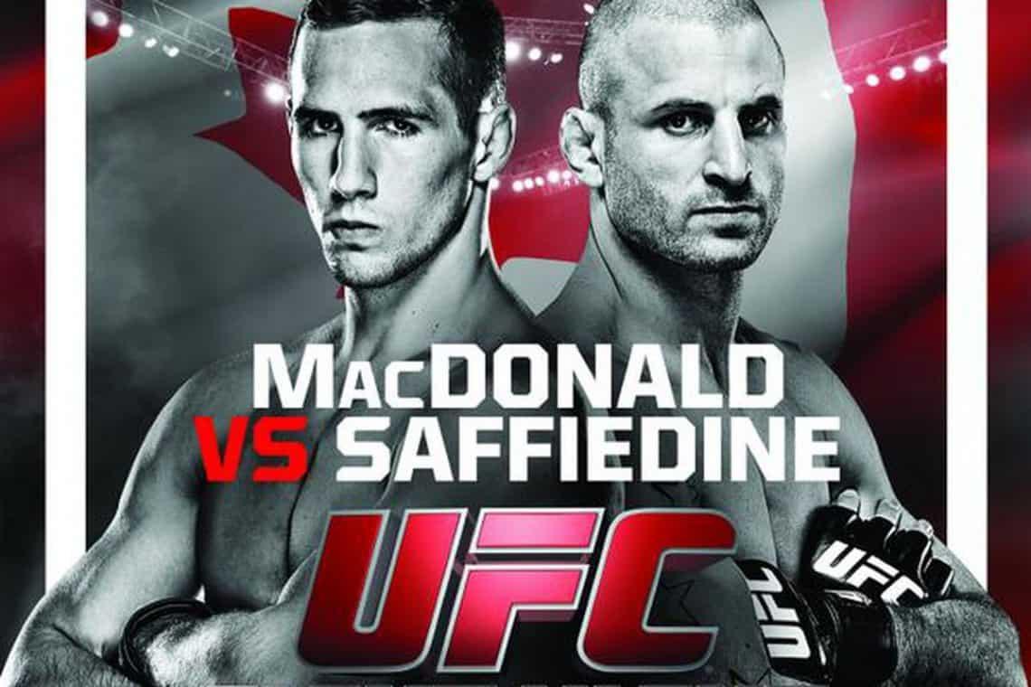 UFC Fight Night: MacDonald vs. Saffiedine 1