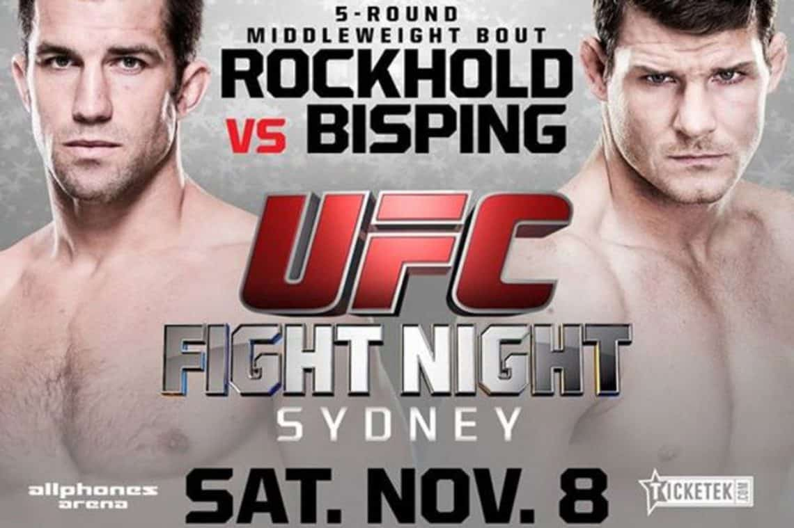 UFC Fight Night: Rockhold vs. Bisping 1