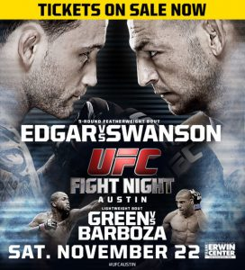 UFC Fight Night: Edgar vs. Swanson 2