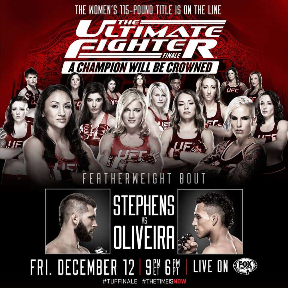 The Ultimate Fighter: A Champion Will Be Crowned Finale 1