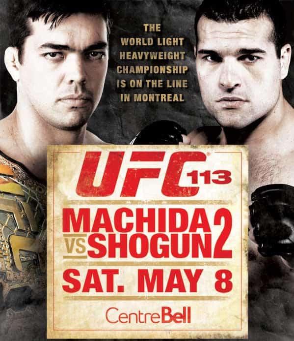 UFC 113: Machida vs. Shogun 2 1