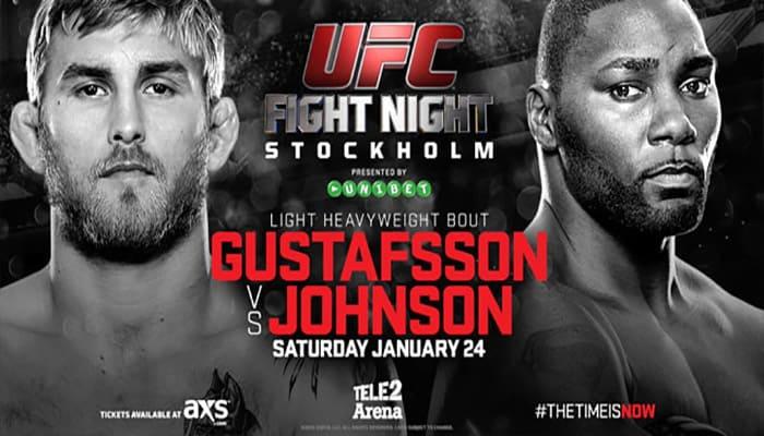 UFC on Fox: Gustafsson vs. Johnson 1