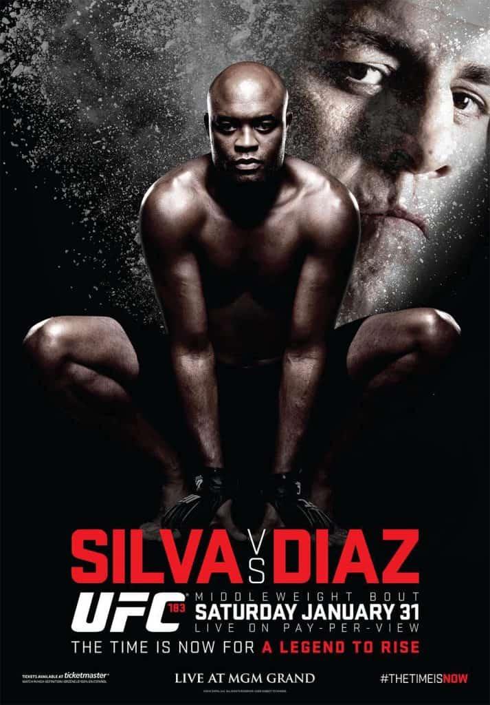 UFC 183: Silva vs. Diaz 1