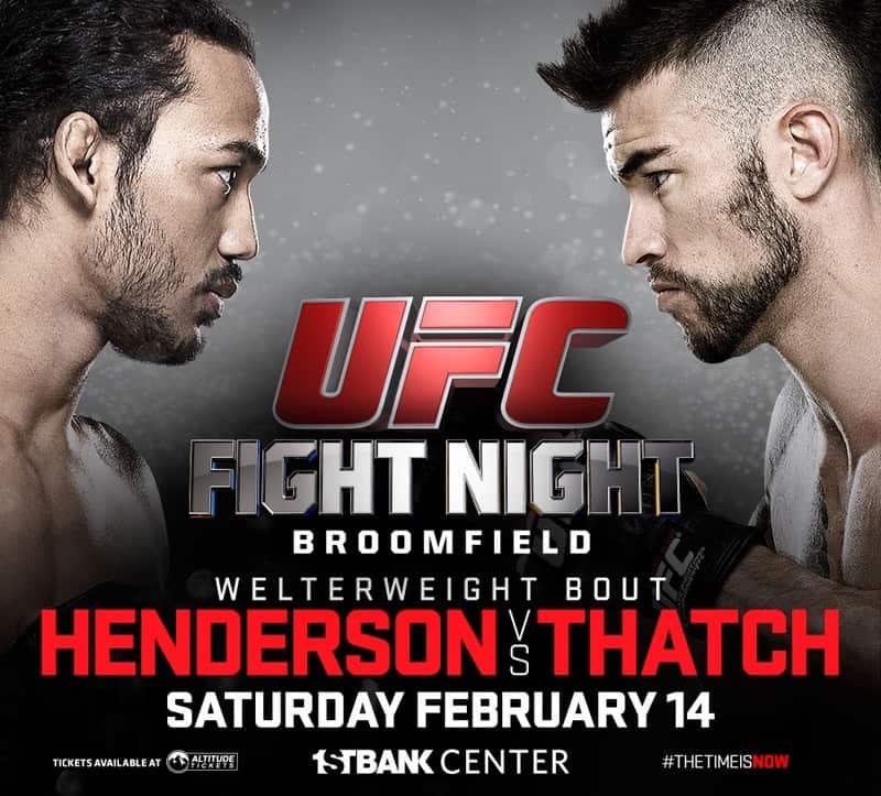 UFC Fight Night: Henderson vs. Thatch 1