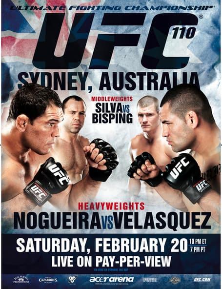 UFC 110: Nogueira vs. Velasquez 1