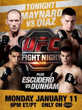 UFC Fight Night: Maynard vs. Diaz 1