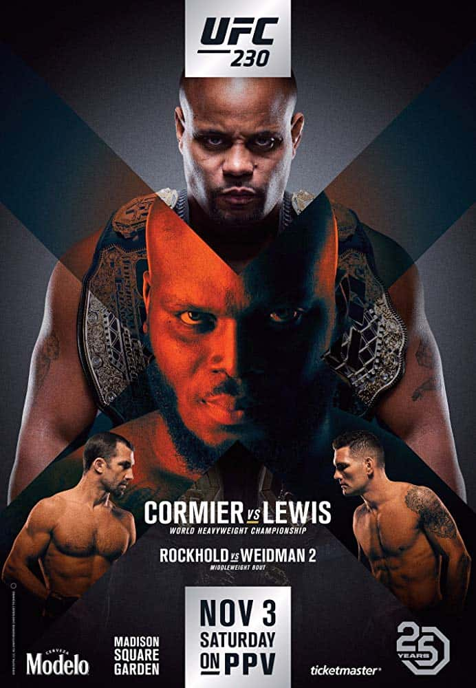 UFC 230: Cormier vs. Lewis 1