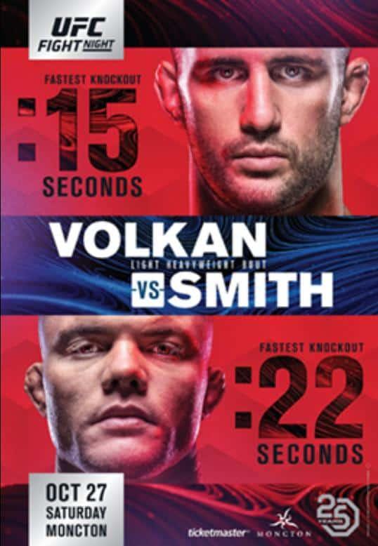 UFC Fight Night: Volkan vs. Smith 1