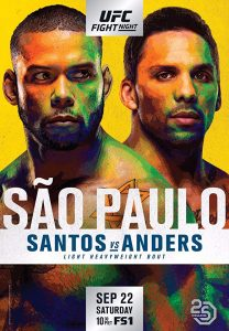 UFC Fight Night: Santos vs. Anders 2