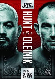 UFC Fight Night: Hunt vs. Oleinik 2