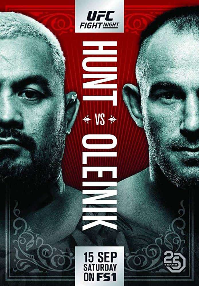 UFC Fight Night: Hunt vs. Oleinik 1