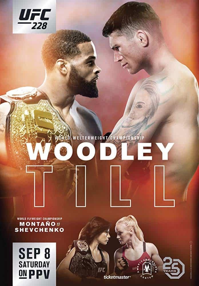 UFC 228: Woodley vs. Till 1