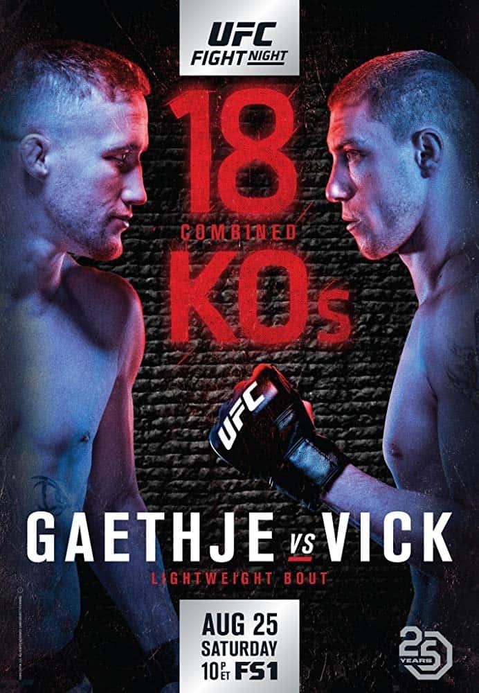 UFC Fight Night: Gaethje vs. Vick 1