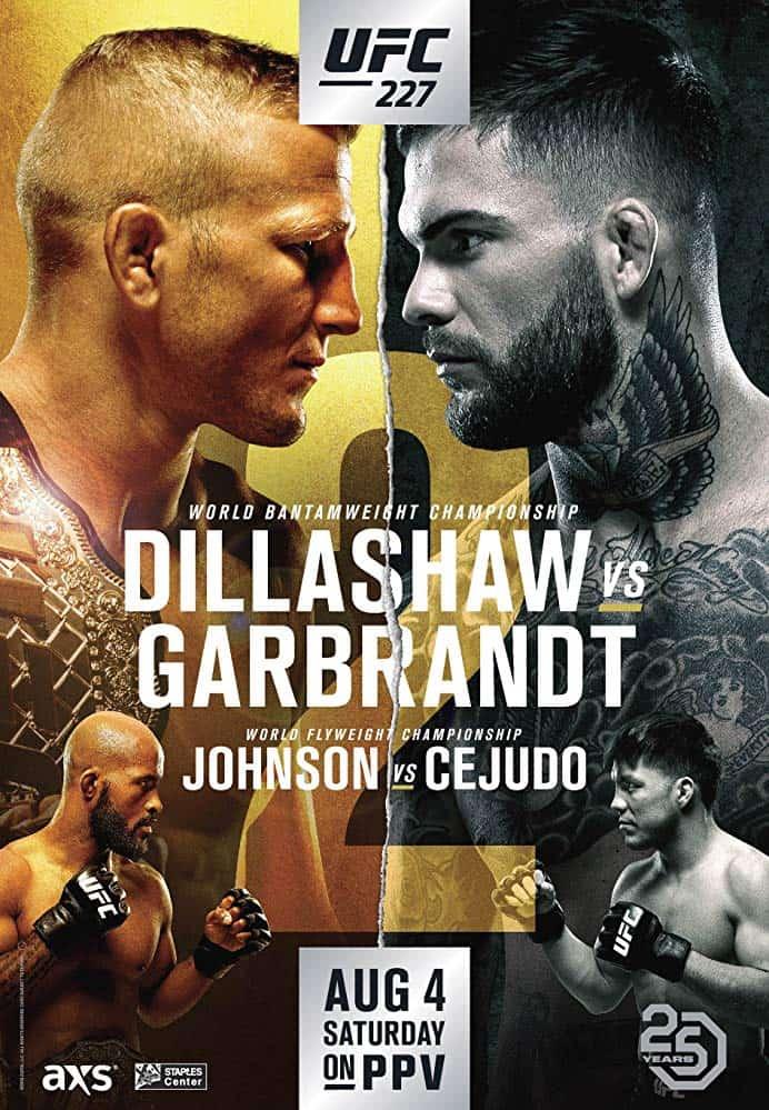 UFC 227: Dillashaw vs. Garbrandt 2 1