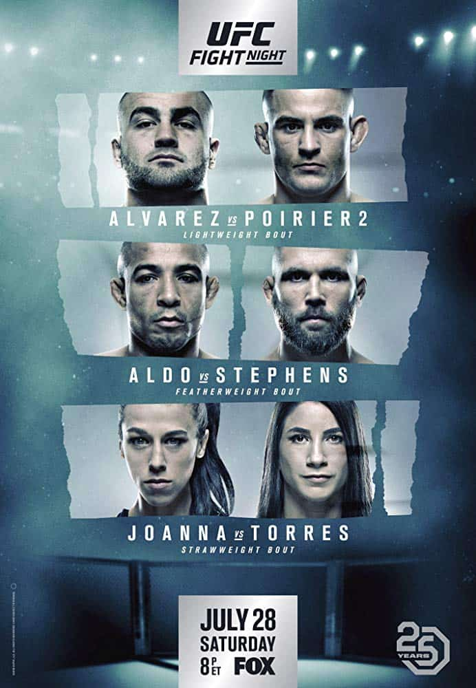 UFC on Fox: Alvarez vs. Poirier 2 1