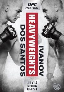 UFC Fight Night: dos Santos vs. Ivanov 2