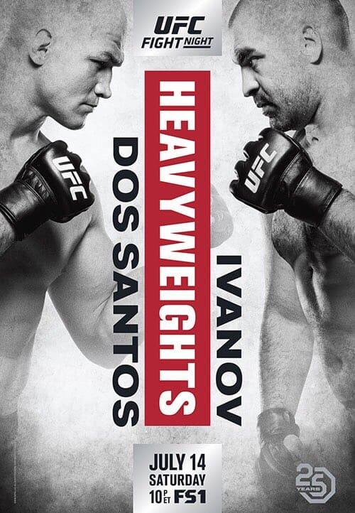 UFC Fight Night: dos Santos vs. Ivanov 1