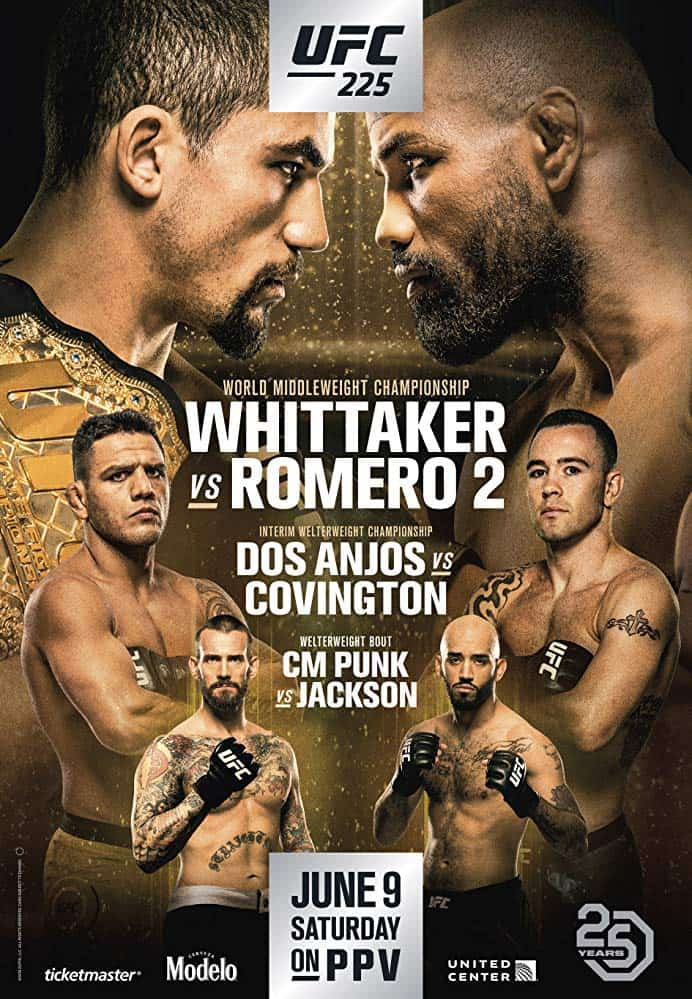 UFC 225: Whittaker vs. Romero 2 1