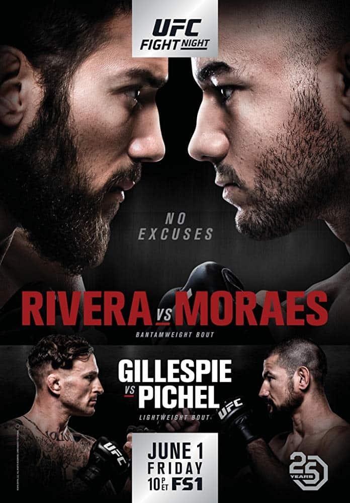 UFC Fight Night: Rivera vs. Moraes 1
