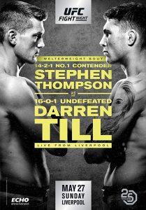 UFC Fight Night: Thompson vs. Till 2