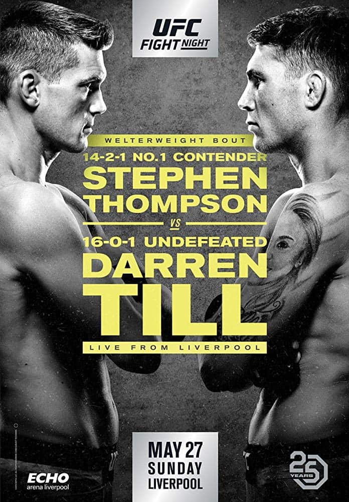 UFC Fight Night: Thompson vs. Till 1