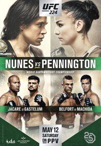 UFC 224: Nunes vs. Pennington 2