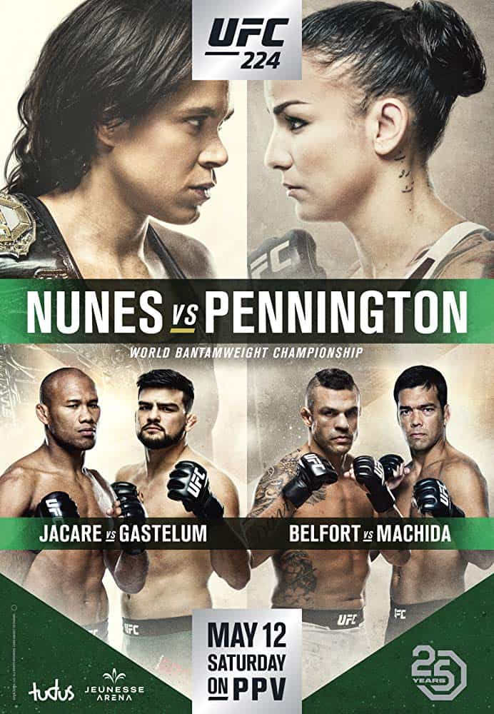 UFC 224: Nunes vs. Pennington 1