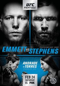 UFC on Fox: Emmett vs. Stephens 2