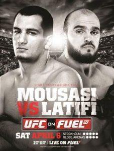 UFC on Fuel TV: Mousasi vs. Latifi 2