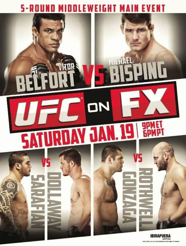 UFC on FX: Belfort vs. Bisping 1